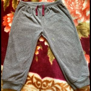 Baby Girl gray Joggers